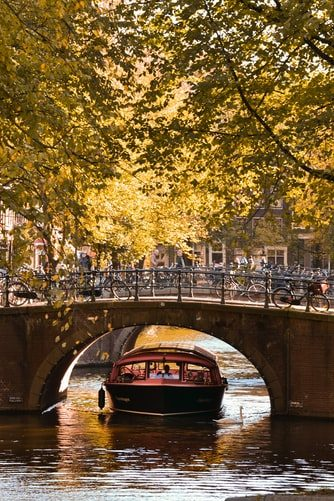 Amsterdam, Netherlands Fall Colors