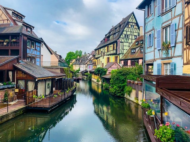 Beautiful Colmar France Canal