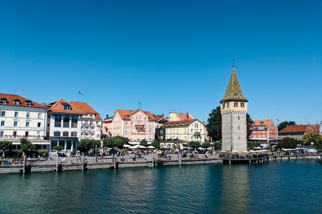 Lindau In Germany Lake view