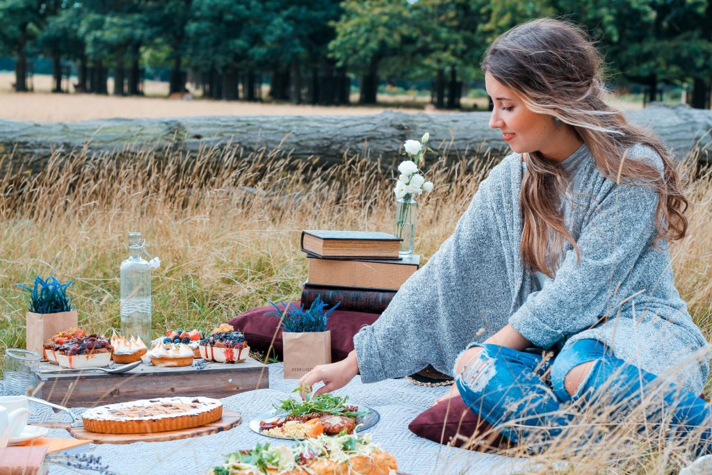 picknickplek in Europa eten