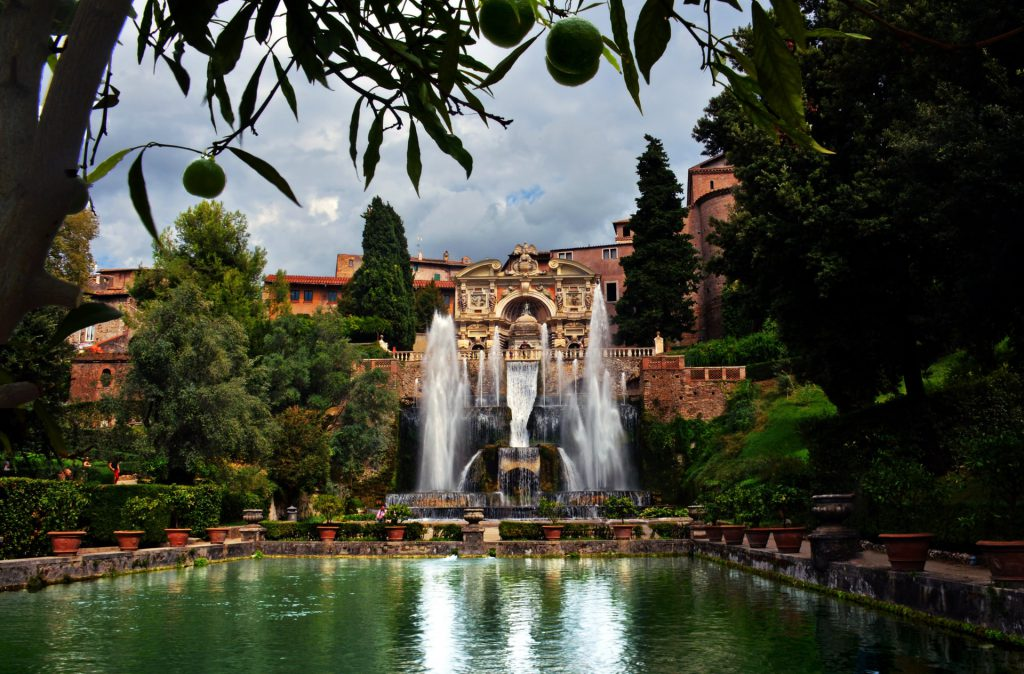 Villa D'este, Rome Italy Most Beautiful Gardens in Europe