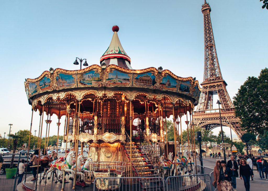 Make Time For Carousel Rides in a fun fair