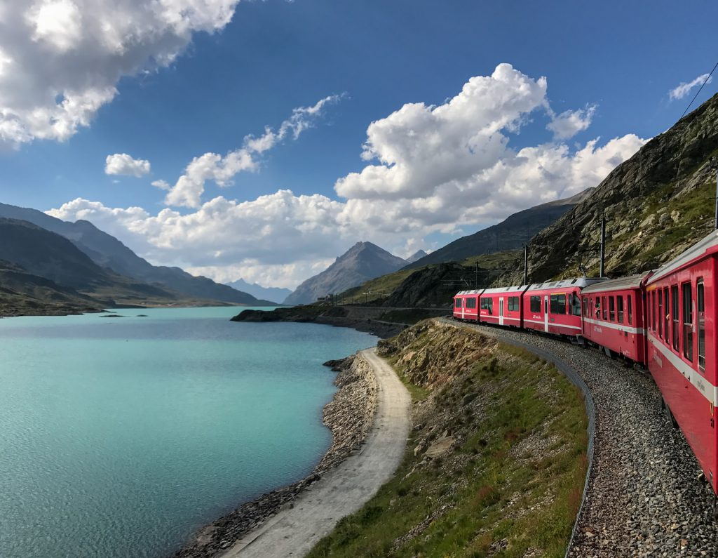 SBB Train Travel in Switzerland