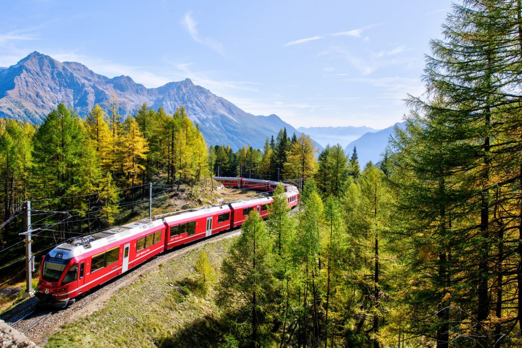 SBB Train sa Switzerland