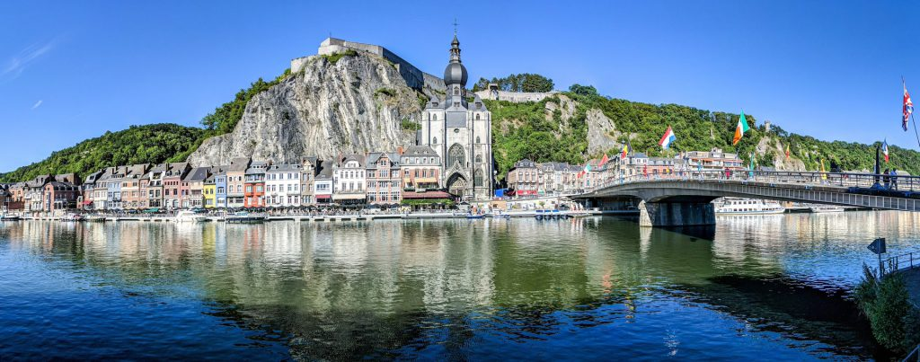 Chateau De Crevecoeur In Dinant Viewpoints