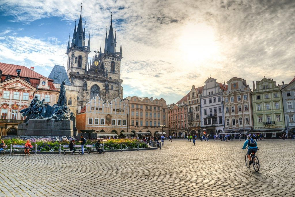 charming old city centers in Prague