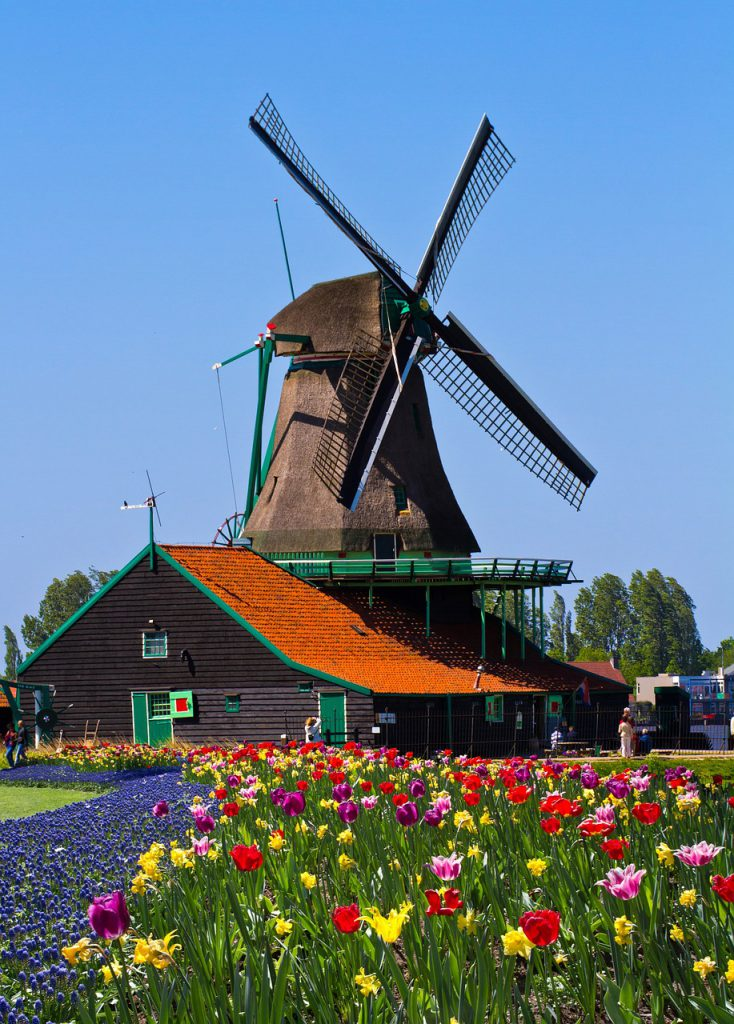 Zaanstad Village in The Netherlands is one of the Most Beautiful Viewpoints in Europe