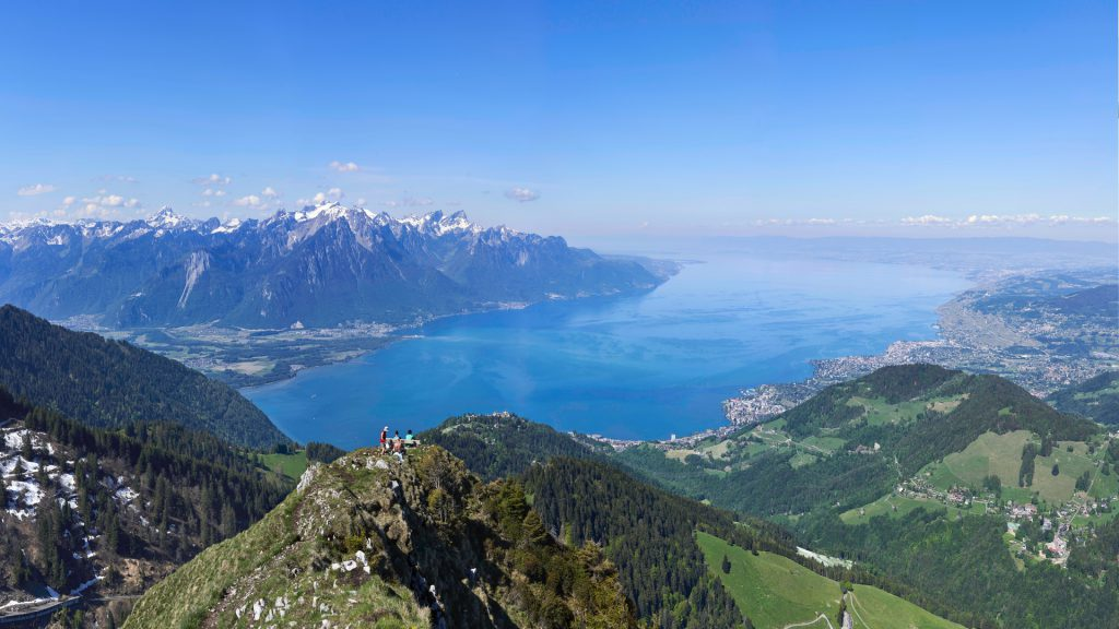 Switzerland's Rochers De Naye is Most Beautiful Viewpoints in Europe and a very high one