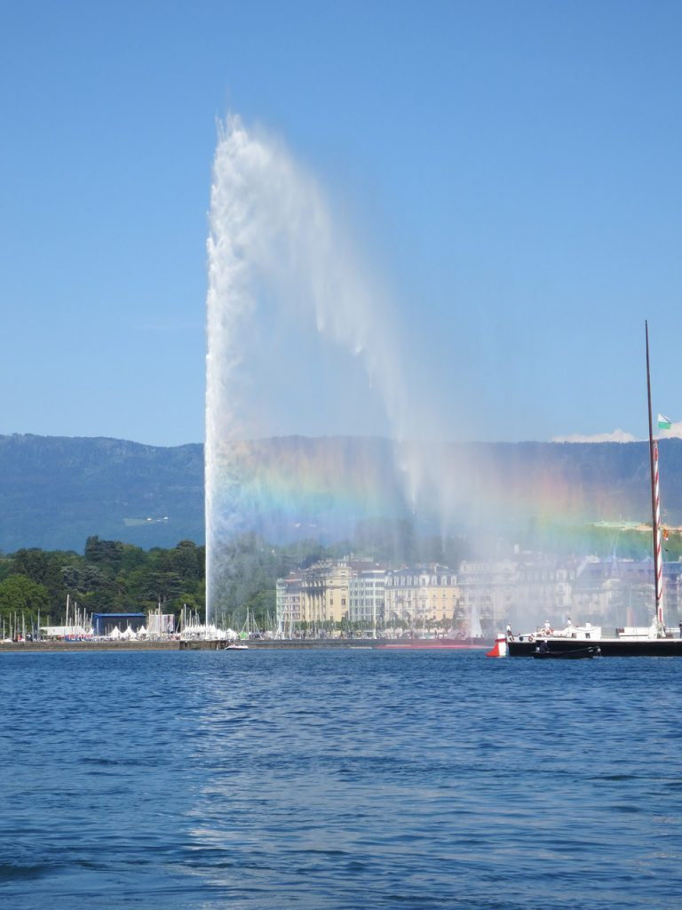 Jet Deau In Geneva is The Most Special Fountain In Switzerland