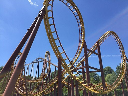 Asterix Theme Park in France rollercoaster