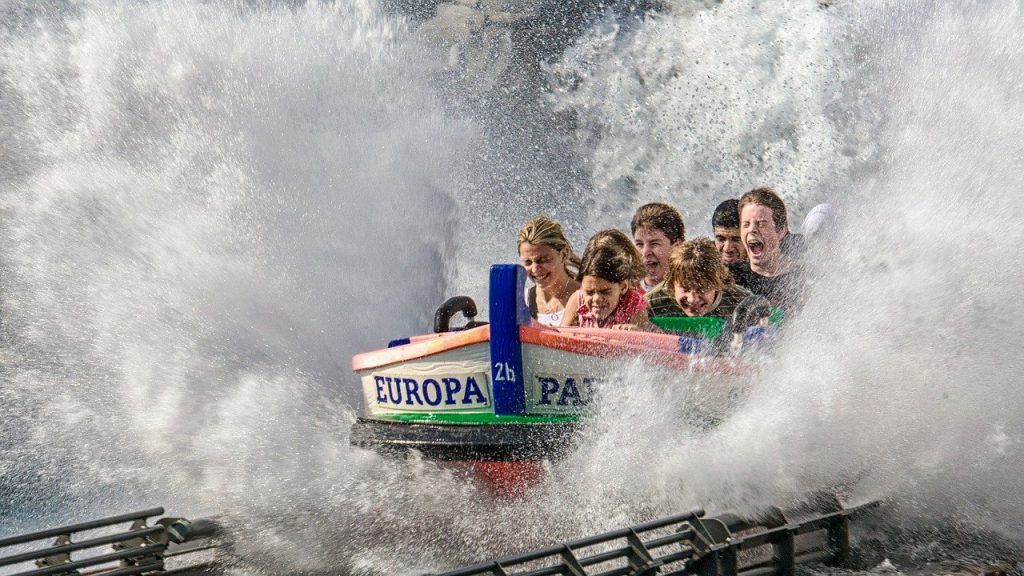Gelongsor air Europa-Park