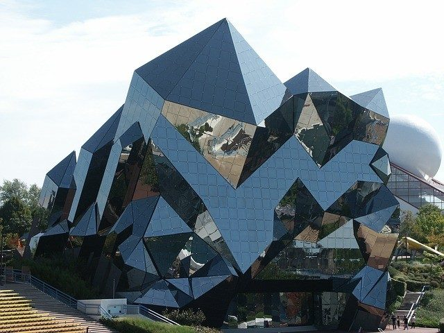Futuroscope Theme Park in France Shisha binosi