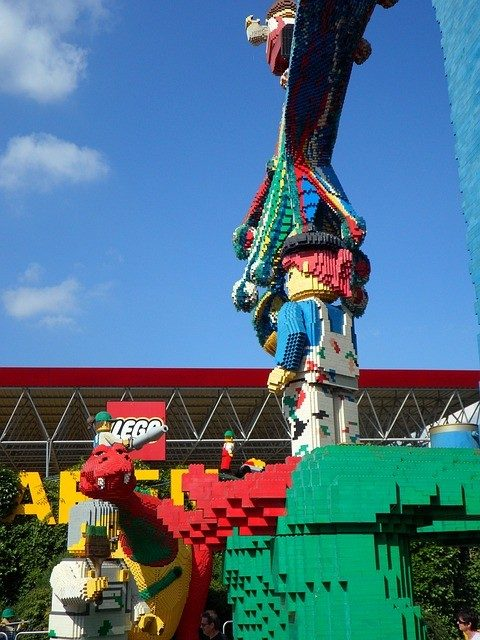 Taman Tema Legoland Di Windsor UK