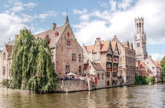 Belgium's Bruges Ancient buildings