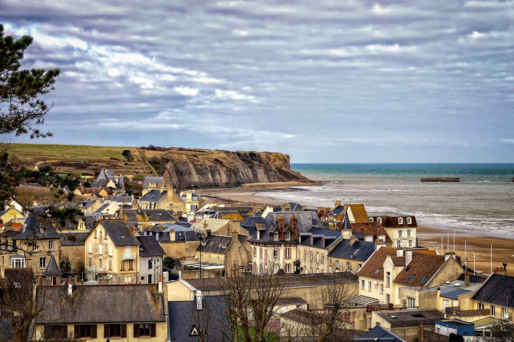 I-Arromanches-Les-Bains e-France kwingingqi yeNormandy