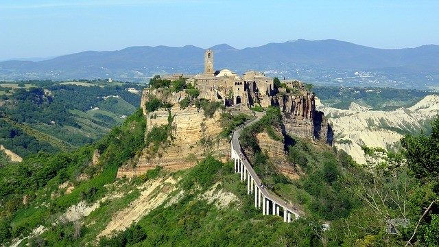 Civita Di Bagnoregio, Italy is one of the Most Beautiful Old Towns In Europe
