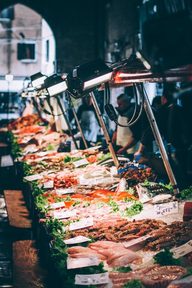 Rialto Best Fish Market In Venice