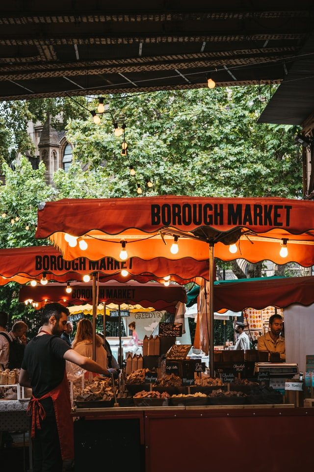 Borough Market din Londra