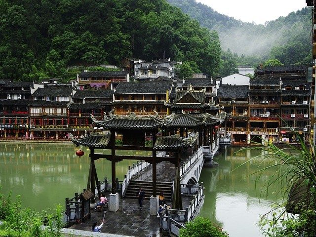 Fenghuang In China is 'n unieke ou plek