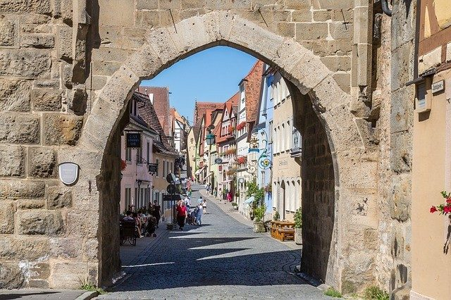 Most Beautiful Ancient Towns To Visit Worldwide: Rothenburg Old Town, Germany