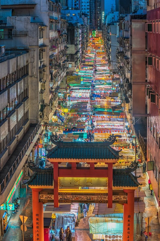 Kowloon neighborhood in Hongkong is one of the best food Market in the world