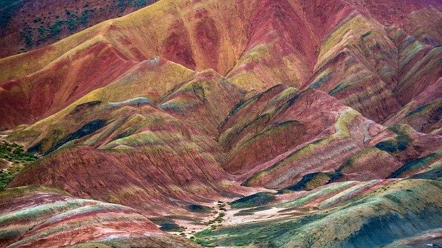 China's Zhangye Danxia Landform