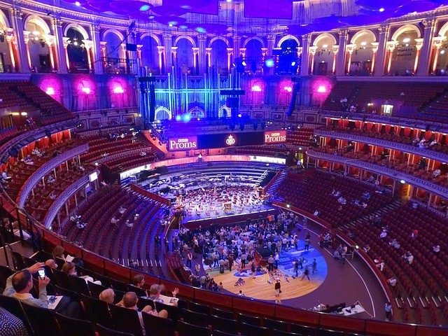 Royal Albert Hall Music Avenue Di London