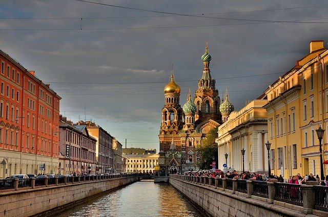 Neva River in Saint Petersburg Is one of Russia's Amazing Places to Visit