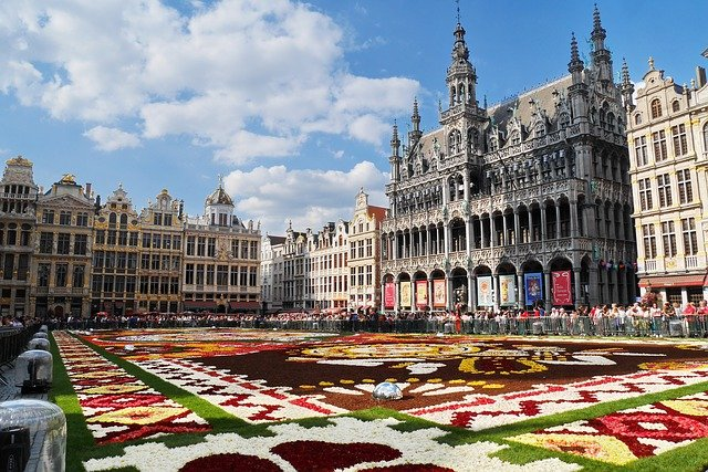 Grand Place Brussels is a beauty