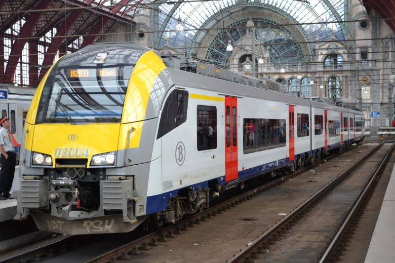 Belgium train image