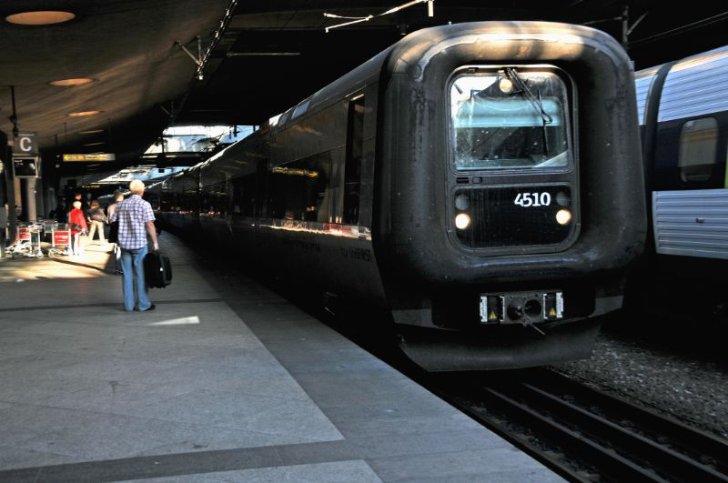 Denmark train image